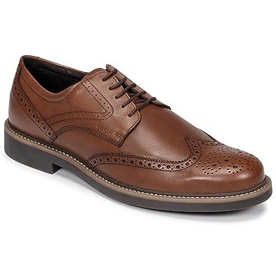 Gutscheincode sehr bekannt beste website Geox Men's Oxford Shoes U Silmor C Cognac U845SC