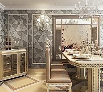 VanMe Modernes, Minimalistisches Leder Streifen Wallpaper 3D ...