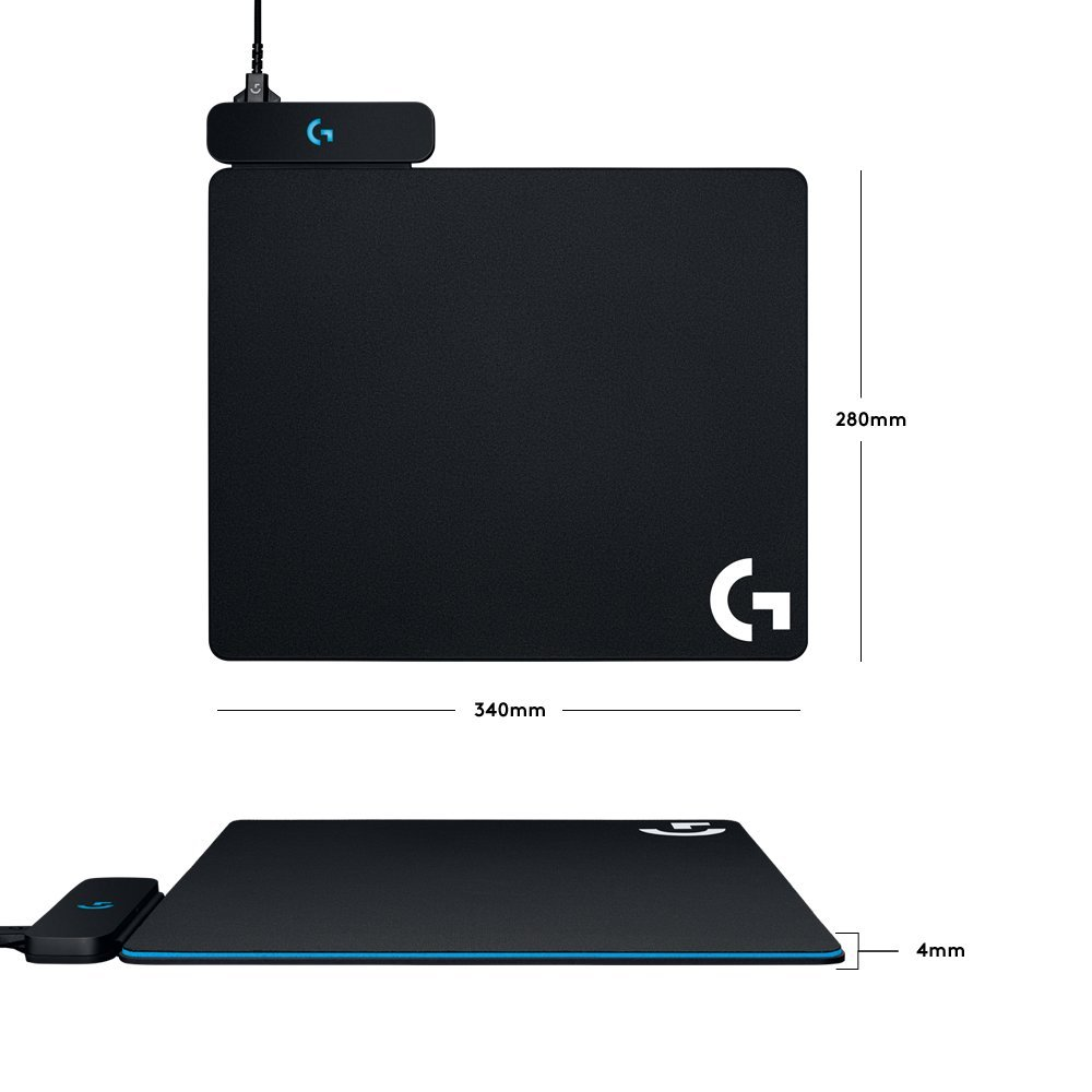 Logitech G Powerplay Wireless Charging System for G703, G903 Lightspeed Wireless Gaming Mice, Cloth or Hard Gaming Mouse Pad by Logitech (Image #4)