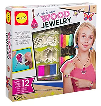 Amazon alex toys 611110 3 do it yourself stitch and wear wood alex toys 611110 3 do it yourself stitch and wear wood jewellery craft solutioingenieria Images