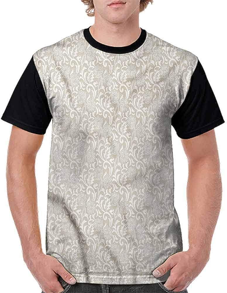 BlountDecor Teen t-Shirt,Vibrant Magnolia Flower Fashion Personality Customization