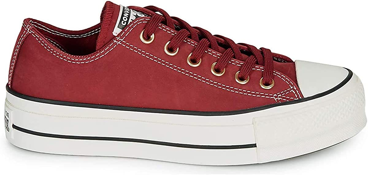 CONVERSE Chuck Taylor All Star Lift nubuck Femme Bordeaux