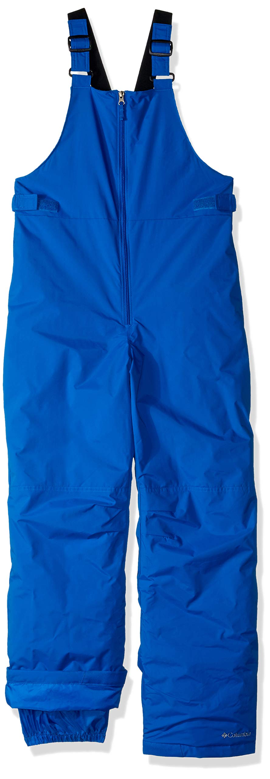 Columbia Girls' Big Snowslope II Bib, Super Blue, Medium