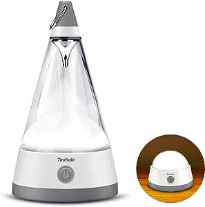 Veilleuse enfant camping LED avec Couvercle Détachable