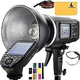 Godox AD600B TTL Bowen Mount GN87 600W HSS 1 / 8000s 2.4G Wireless 8700mAh Lithium Battery Studio Strobe Flash,Godox XPro-S Flash Trigger for Sony DSLR Camera