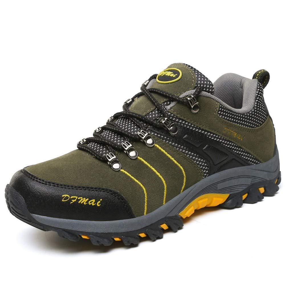 Tarmac 44 Fashion shoesbox Men's Hiking shoes Lightweight Leather Sneaker Walking Trekking Training Casual Work shoes