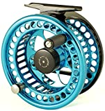 Loop Evotec Featherweight Fly Reel BLUE 4-6 LEFT