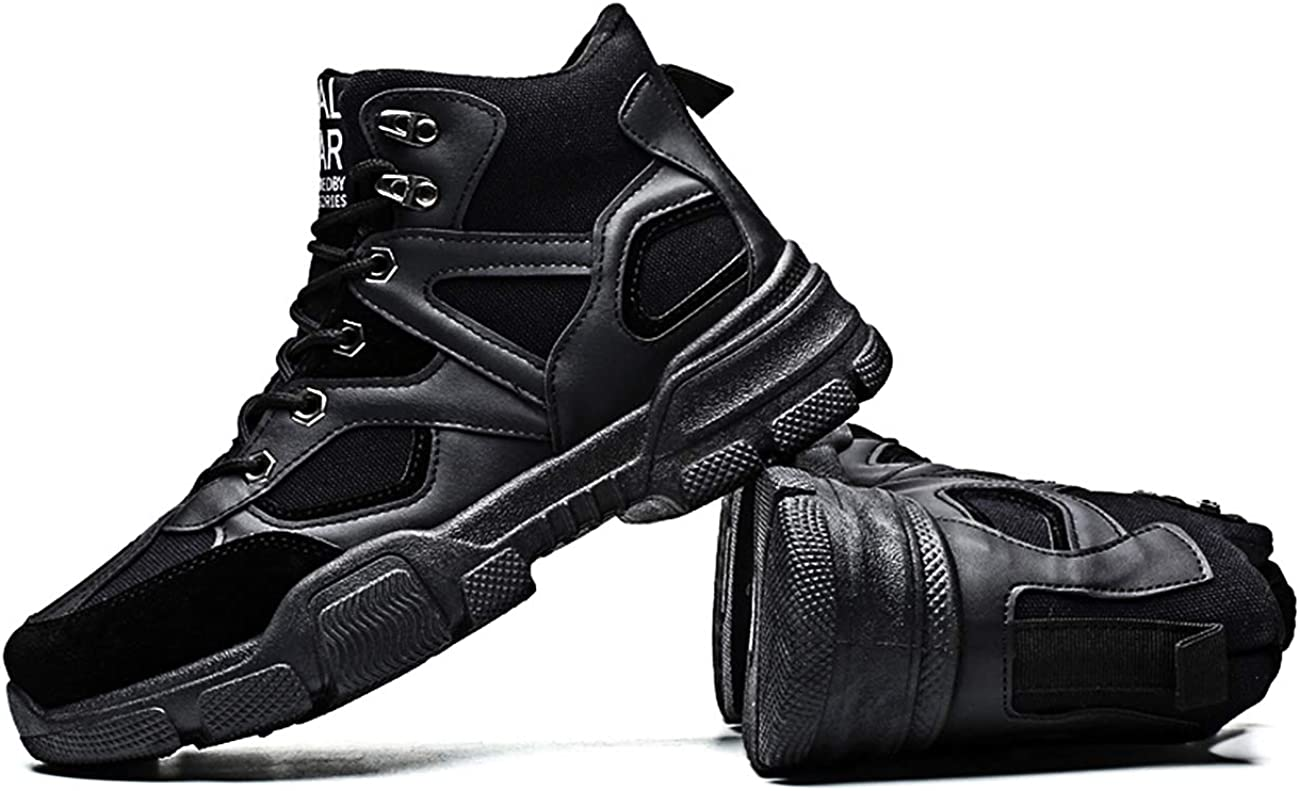 Hombre Botines Zapatos Botas de Invierno de monta/ña Impermeables Fur Aire Libre Boots