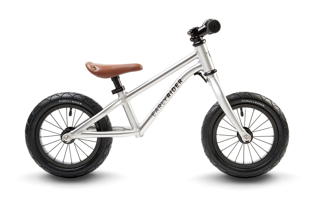 2015 Early Rider Alley Balance Bike Silver 2 - 4.5 Years ERAR12