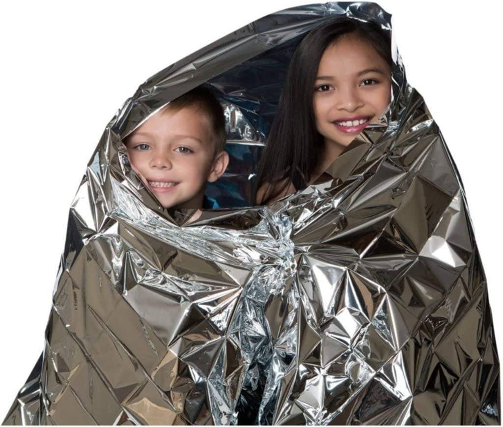 Kangaroo Emergency Thermal Blankets (Pack of 10): Sports & Outdoors