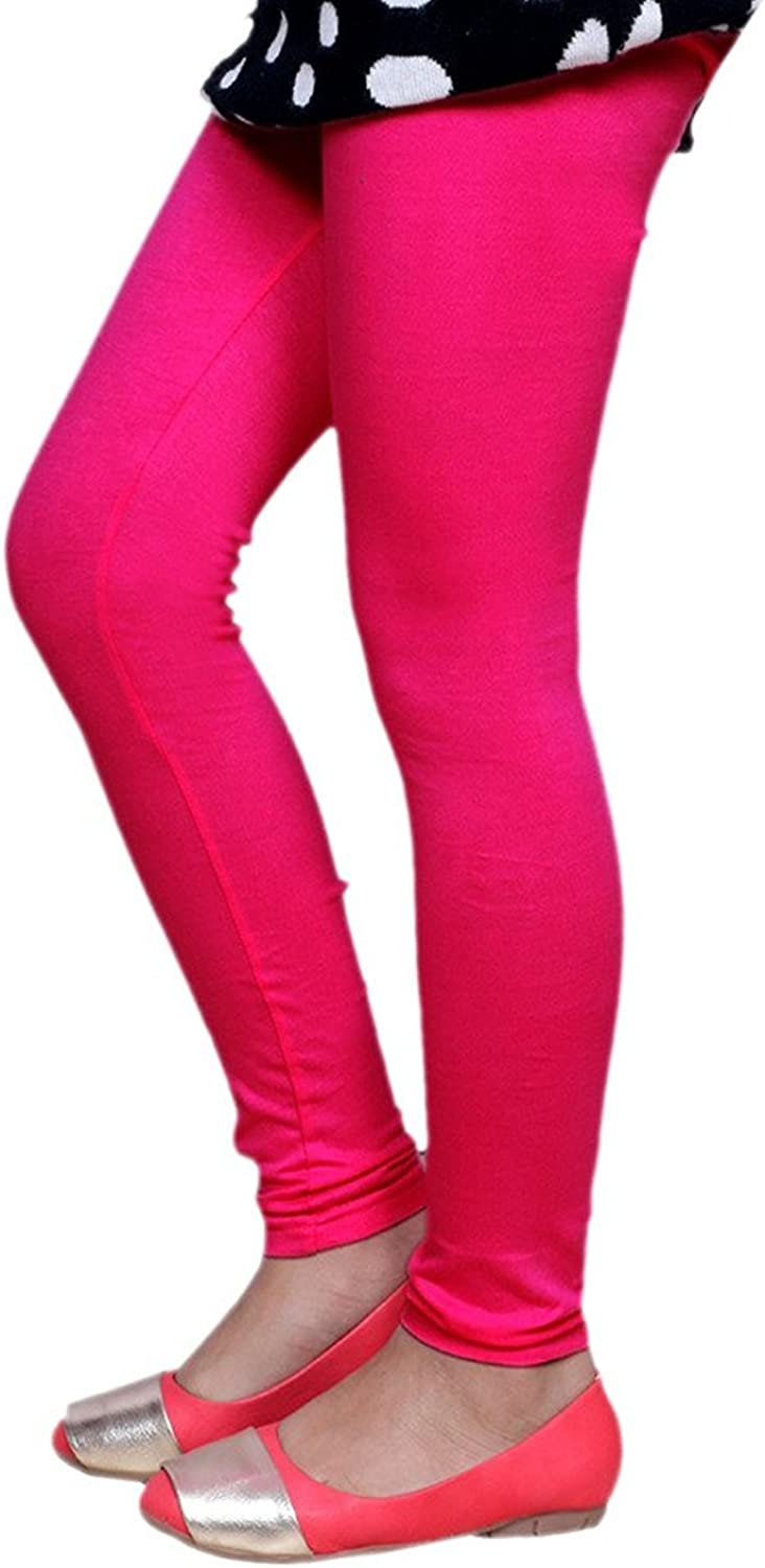 /_Multicolor/_Size-5-6 Years/_7141213141820-IW-P5-28 Indistar Girls 3 Cotton Solid Legging Pants Pack of 5 and 2 Cotton Printed Legging Pants