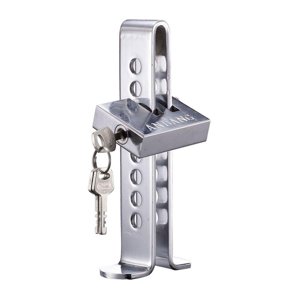 Blueshyhall Steering Wheel Lock Vehicle Car Car Anti-Theft Security Lock for Car Truck SUV Blue 4336324255