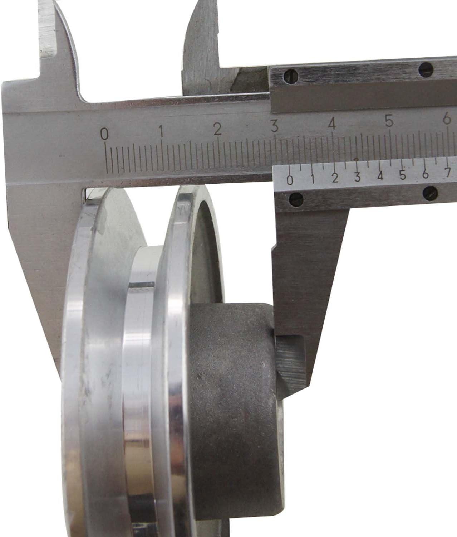Ribitech 01639/Pulley Aluminium 80/mm Diameter