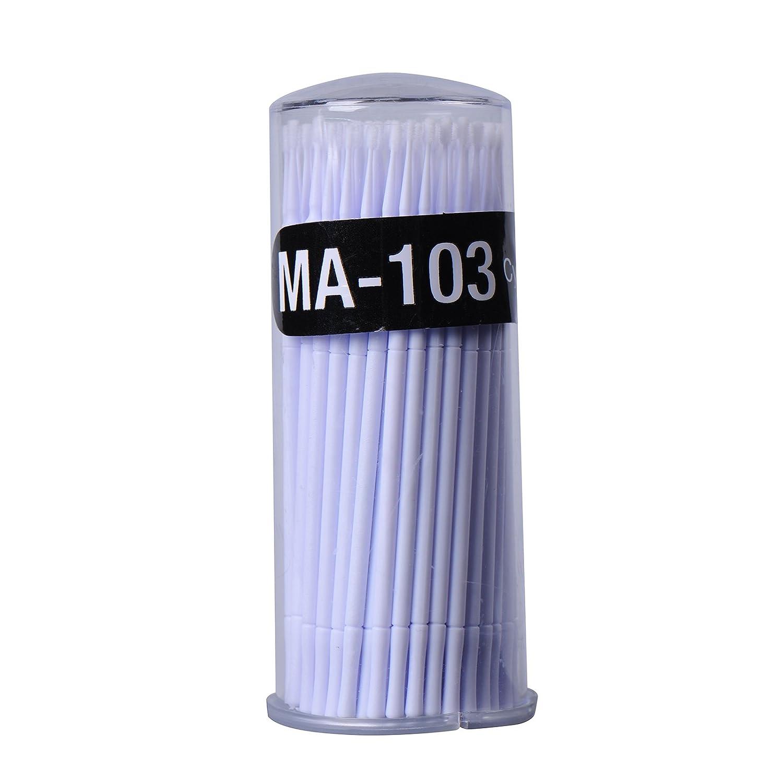 100pcs Small Disposable Eyelash Extension Micro Brush Applicators Mascara zsl