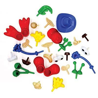 Creativity Street Modeling Dough and Clay Body Parts, Assorted: Arts, Crafts & Sewing