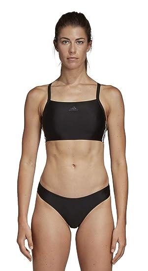 af7a7df46f44 adidas Fit 2pc 3s Maillot de Bain Femme  Amazon.fr  Sports et Loisirs