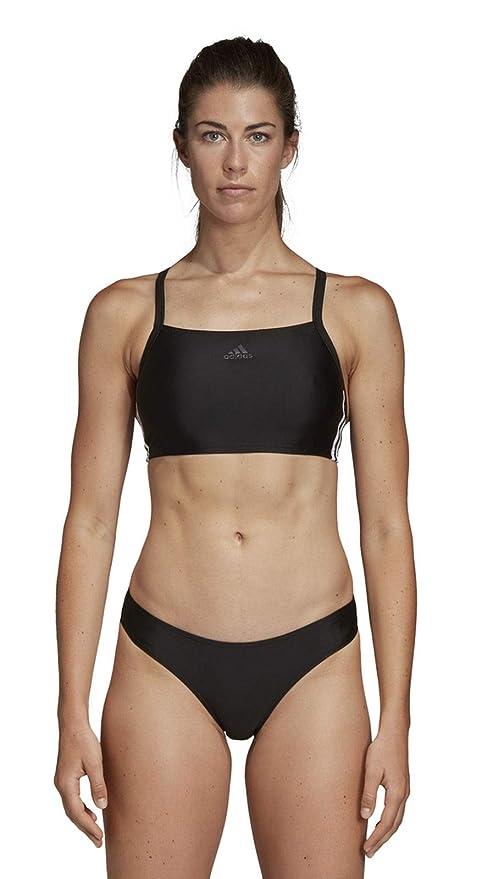 adidas Damen 3-Streifen Bikini: Amazon.de: Sport & Freizeit