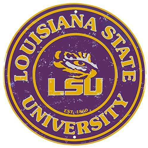 LSU Louisiana State University 12