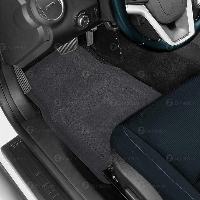 UZZUHI Galaxy Starry 4 Pieces Car Mat Comfort Soft Durable Fabric Car Floor Mats Non-Slip Rubber Backing Resistant Dust Mud Scratche for Men Adult Teens