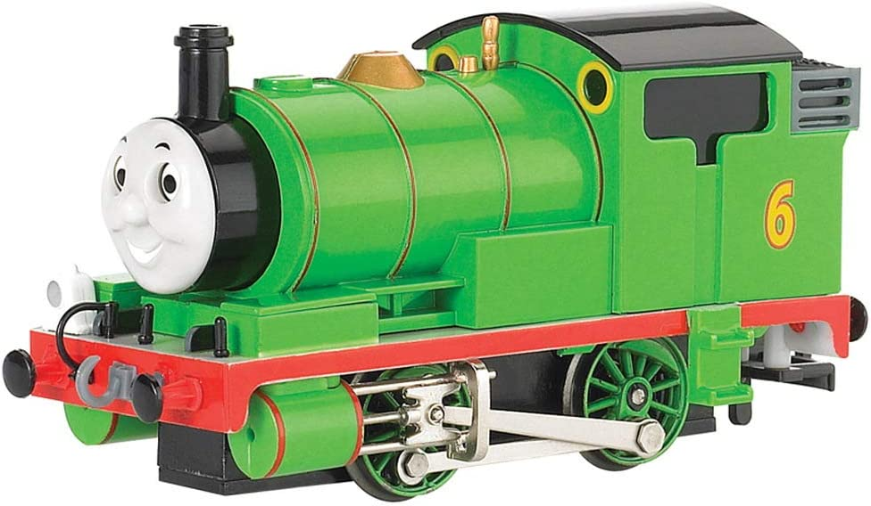 Bachmann Trains - THOMAS & FRIENDS PERCY THE SMALL ENGINE w/Moving Eyes - HO Scale