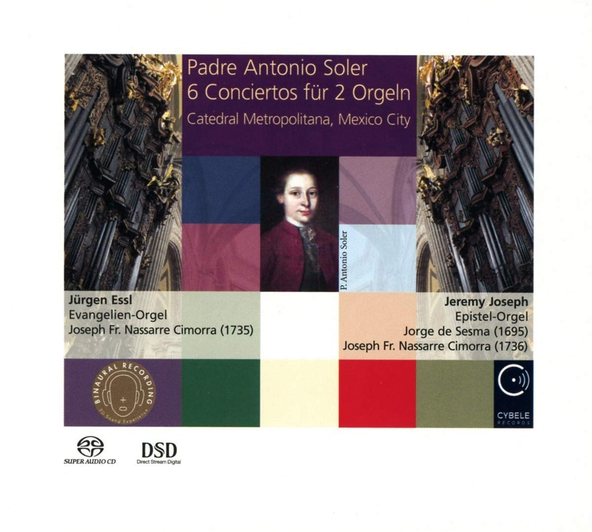 SACD : JUERGEN ESSL - JEREMY JOSEPH - 6 Conciertos For 2 Organs (Hybrid SACD)