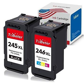 Amazon.com: ToBeter - Cartucho de tinta remanufacturado para ...