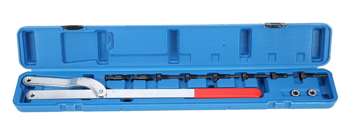 FreeTec Universal Pulley Holder Spread Intercambiabile Pin Fan Frizione Tool Set