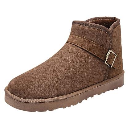 Botas de Nieve para Hombre,ZARLLE Zapatos para hombre Botas calientes de invierno para hombres