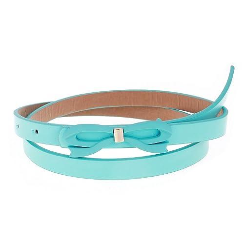 Damara Elegante Cinturón Correa De Cintura Con Hebilla De Lazo Para Mujer