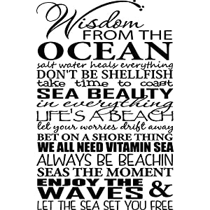 61dqKJigACL._SS300_ Beach Wall Decals and Coastal Wall Decals