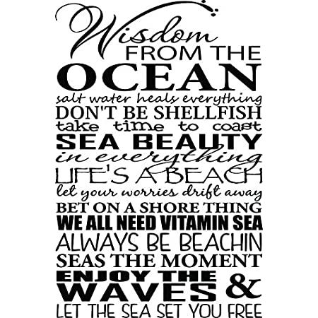 61dqKJigACL._SS450_ Beach Wall Decals and Coastal Wall Decals