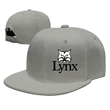 870b19a7a51 LYNX GOLF Adjustable.Fitted Flat Baseball Cap  Amazon.co.uk  Clothing