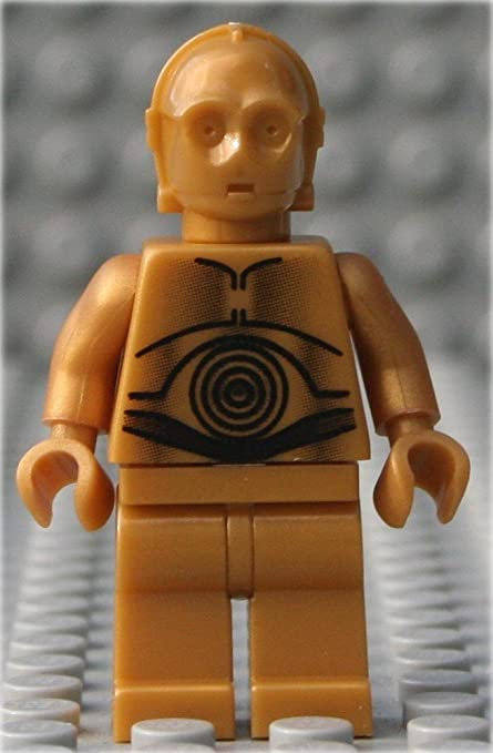 LEGO STAR WARS MINIFIGURE C-3PO C3PO DROID YELLOW EYES VERSION CLASSIC