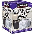 KIRKLAND SIGNATURE Gallon Clear Wastebasket Liners, 1 Pack