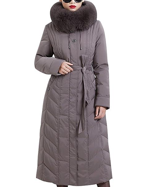 Abrigo largo mujer amazon