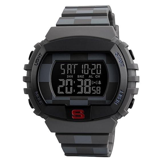 gets diseño único del reloj Digital muñeca relojes Fashion Business Casual Deportes relojes de pulsera para hombres: Amazon.es: Relojes