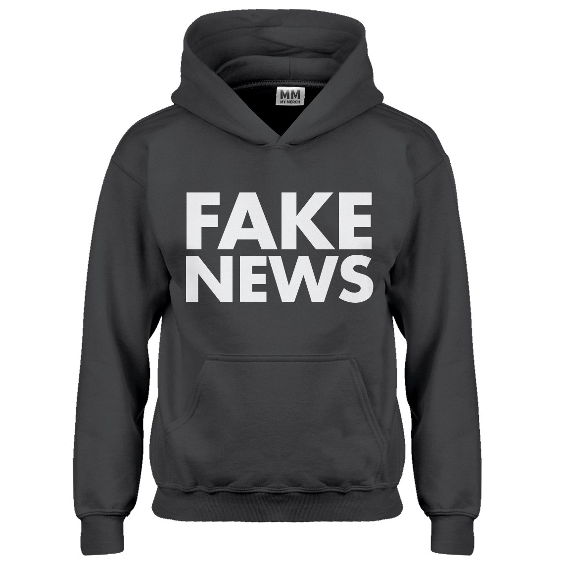 Indica Plateau Youth Fake News Kids Hoodie