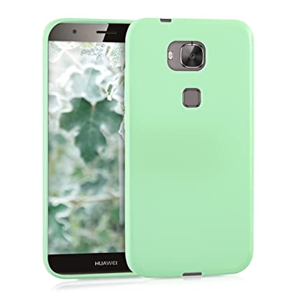 kwmobile TPU Silicone Case for Huawei G8 / GX8 - Soft Flexible Shock Absorbent Protective Phone Cover - Mint Matte