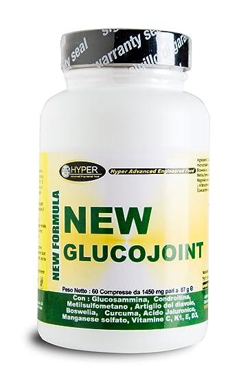 60 tablets - 87 grams Glucosamine, Coindritin sulfate, MSM (Methyl Sulfonyl Methane)