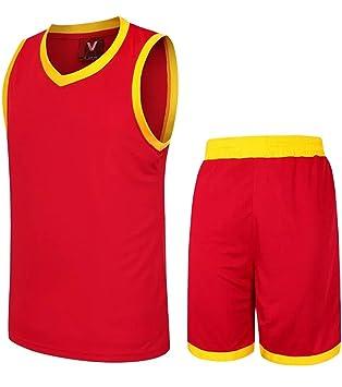 Astage Hombre Joven Camiseta Pantalones Cortos Baloncesto Fútbol Traje Deporte: Amazon.es: Deportes y aire libre