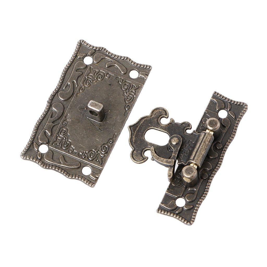 55x47mm Einfach zu installieren. Manyo 1 St/ück Retro Schnalle Haken-Box Latch-Koffer Lock Hook