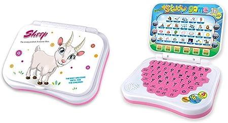 Early Educación Estudio Multifunción Juguete Bebé Aprendizaje Interactivo Ordenador Portátil Juego Máquina para Bebés