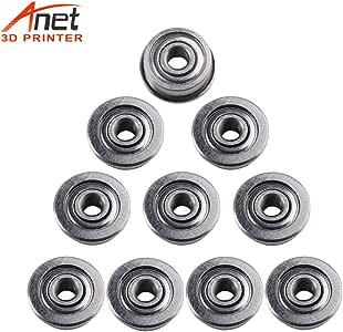 Aibecy Anet 10Pcs Mini rodamientos de una sola brida Material de ...