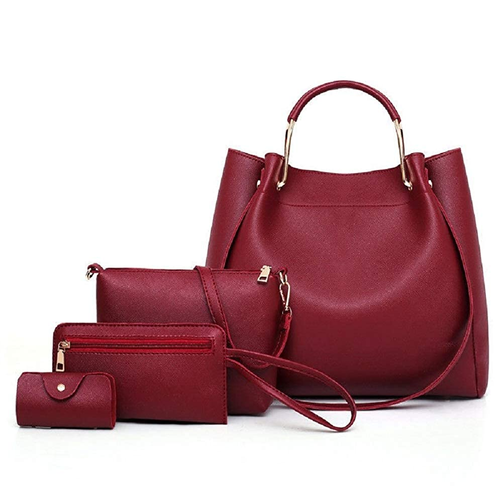 Red TP Womens Handbag Purse Collection  Satchel Tote Shoulder Bag Wallet Keychain