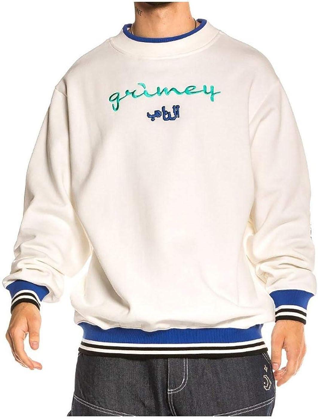 GRIMEY Sudadera Arch Rival Ghetto Love Crewneck FW20 White