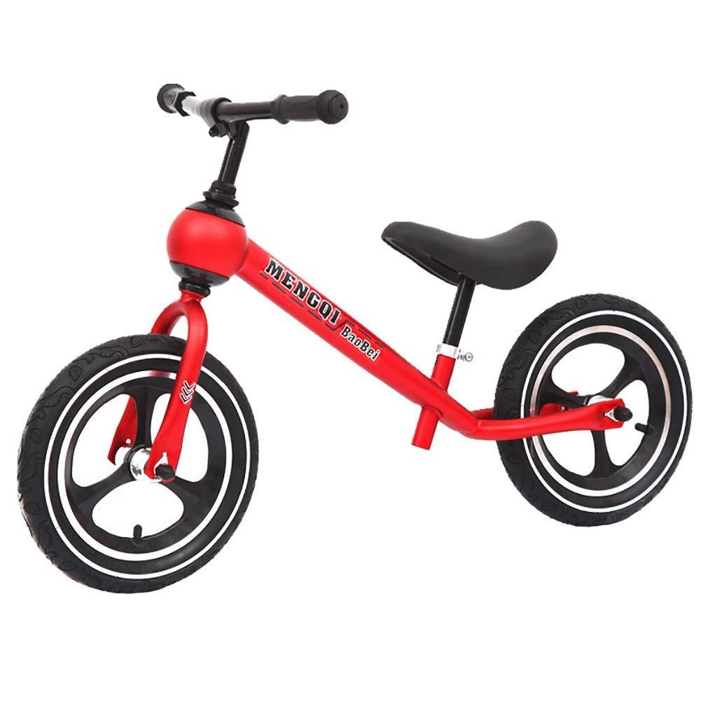 ペダルなし自転車 軽量のバランスのバイクのゴム製タイヤ、子供のためのペダルの子供の自転車の調節可能な座席最初トレーニングバイク無し (色 : : D) D) B07Q4WML77 A (色 A, 下八重商店:a3ae8071 --- rigg.is