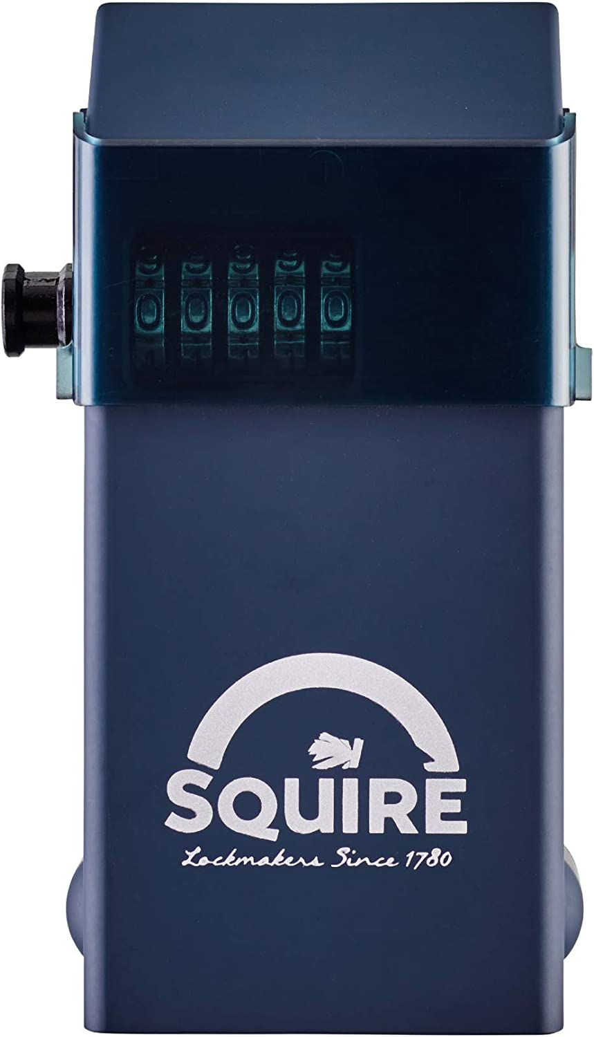 Squire Key Safe. High Security Key Lock Box for Internal and External Use. Weatherproof Wall-mounted Recodable Key Storage Box (Stronghold Keysafe)