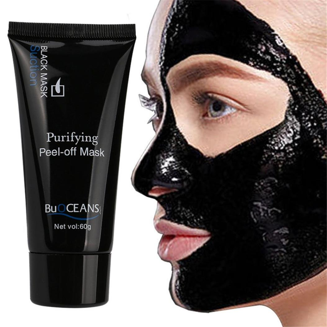 Blackhead Remover for Women Mask Deep Cleansing Black Mask Purifying Face Mask For Nose Acn