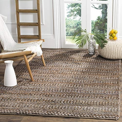 Safavieh Natural Fiber Collection NF212B Hand-woven Jute Area Rug