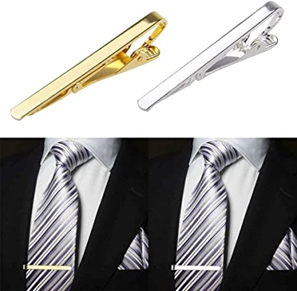 Contever® 2 PC Alfileres de Corbata Tie clip Pasador Clip de ...